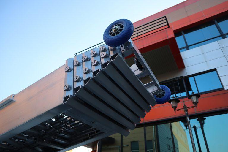 Élévateur mobile sur remorque 24 mètres
